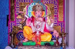 Indiano bonito god-Ganesh-1 Fotografia de Stock Royalty Free