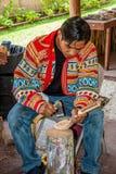 Indiano de Miccosukee Foto de Stock