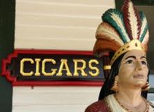 Indiano della memoria di sigaro Immagine Stock