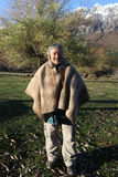 Indiano di Mapuche, Argentina Immagini Stock Libere da Diritti