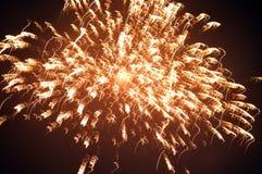 Indiano Diwali 2014 fogos-de-artifício Fotografia de Stock