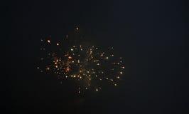 Indiano Diwali 2014 fuochi d'artificio Fotografia Stock