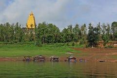 Indiano dourado do pagode Foto de Stock Royalty Free