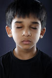 Indiano Little Boy Fotografie Stock Libere da Diritti