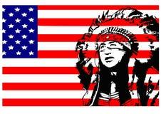 Indiano-logotipo nativo Imagens de Stock Royalty Free