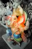 Indiano Lord Ganesh Sculpting Statue Imagem de Stock Royalty Free
