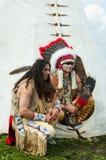 Indiano nordamericano Immagine Stock Libera da Diritti