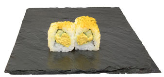 Indiano Tuna Roll Sushi Fotografie Stock