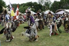 Indianpowen överraskar sommarsolstånd Arkivbild