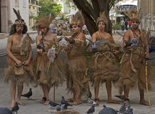 Indians, Havana, Cuba Royalty Free Stock Photography