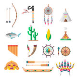 Indians icon temple ornaments Royalty Free Stock Images