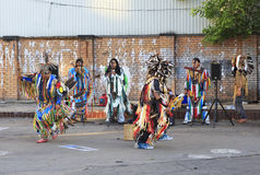 Indians sing and dance Stock Photo