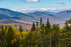 Indiansommar i New Hampshire Arkivfoton