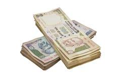 Indiańska waluta Zdjęcie Royalty Free