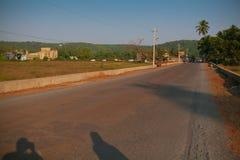 Indiańska wioski ulica Obraz Stock