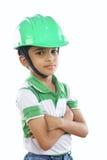 Indiański Mały architekt Zdjęcia Stock