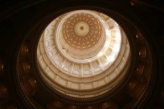 Indic o edifício do Capitólio em Austin da baixa, Texas fotografia de stock royalty free