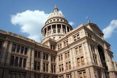 Indic o edifício do Capitólio em Austin da baixa, Texas foto de stock