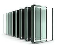 Indicação do objeto da indústria de vidro ilustração do vetor