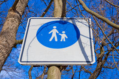 Indicação do sinal de estrada Fotografia de Stock