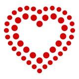 Indica l'icona del cuore, stile semplice Immagine Stock