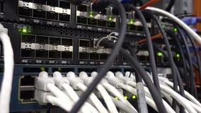 Indica??o do funcionamento do equipamento de rede Lan Network Connection O v?deo cont?m a vibra??o Conceito 3 vídeos de arquivo