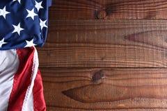 Indicador americano en la madera Fotografía de archivo