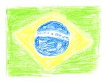 Indicador brasileño Imágenes de archivo libres de regalías