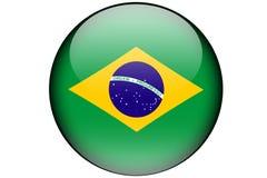 Bandera brasileña imágenes de archivo libres de regalías