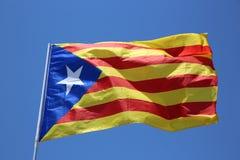 Indicador catalán Foto de archivo