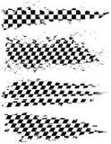 Indicador Checkered Imagenes de archivo