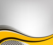 Indicador Checkered Ilustración del vector Fotografía de archivo libre de regalías