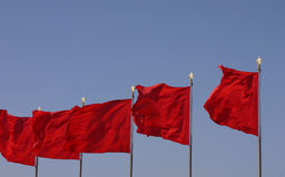 Indicador chino Imagenes de archivo