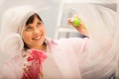 Indicador da limpeza Foto de Stock Royalty Free