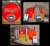 Indicador da que orbita de Breitling Fotografia de Stock Royalty Free