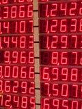 Indicador da troca de dinheiro Imagens de Stock Royalty Free