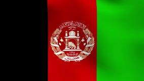 Indicador de Afganistán ilustración del vector