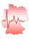 Indicador de Alemania Imagen de archivo libre de regalías