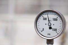 Indicador de alta presión fotografía de archivo libre de regalías