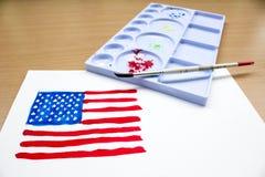 Indicador de América Foto de archivo