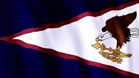 Indicador de American Samoa stock de ilustración