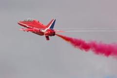 Indicador de ar vermelho das setas Fotografia de Stock