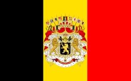 Indicador de Bélgica ilustración del vector
