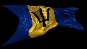 Indicador de Barbados ilustración del vector