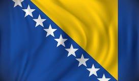 Indicador de Bosnia y Hercegovina Imágenes de archivo libres de regalías