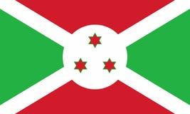 Indicador de Burundi ilustración del vector