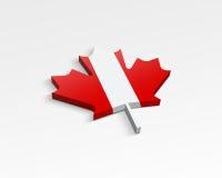 Indicador de Canadá stock de ilustración
