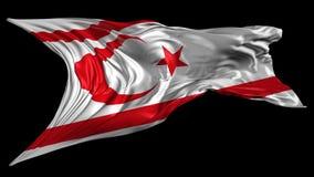 Indicador de Chipre norteño ilustración del vector