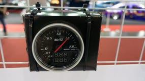 Indicador de coche negro Foto de archivo libre de regalías