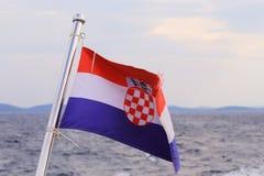 Indicador de Croatia Fotografía de archivo